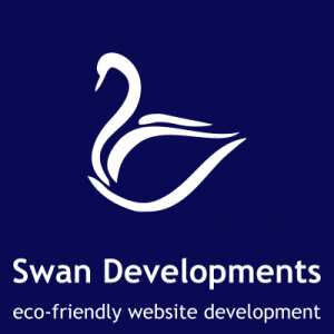 Swan Developments eco-friendly website development