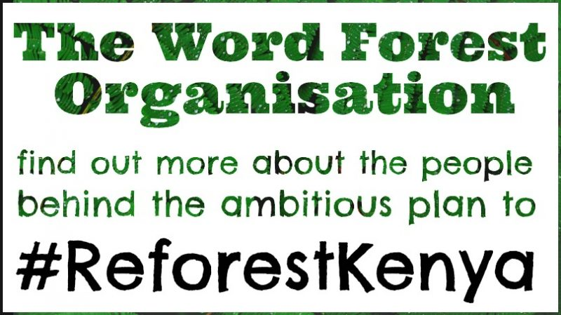 Poster for #ReforestKenya video