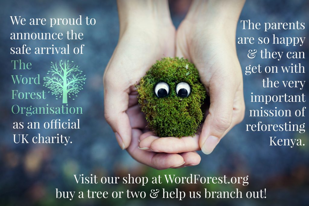 The Word Forest Organisation is a Charity poster