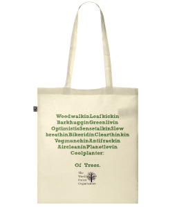 'Bag Of Trees' 100% Organic Cotton Tote