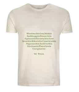 'Men Of Trees' 100% Organic Cotton Jersey Men's/Unisex T-Shirt