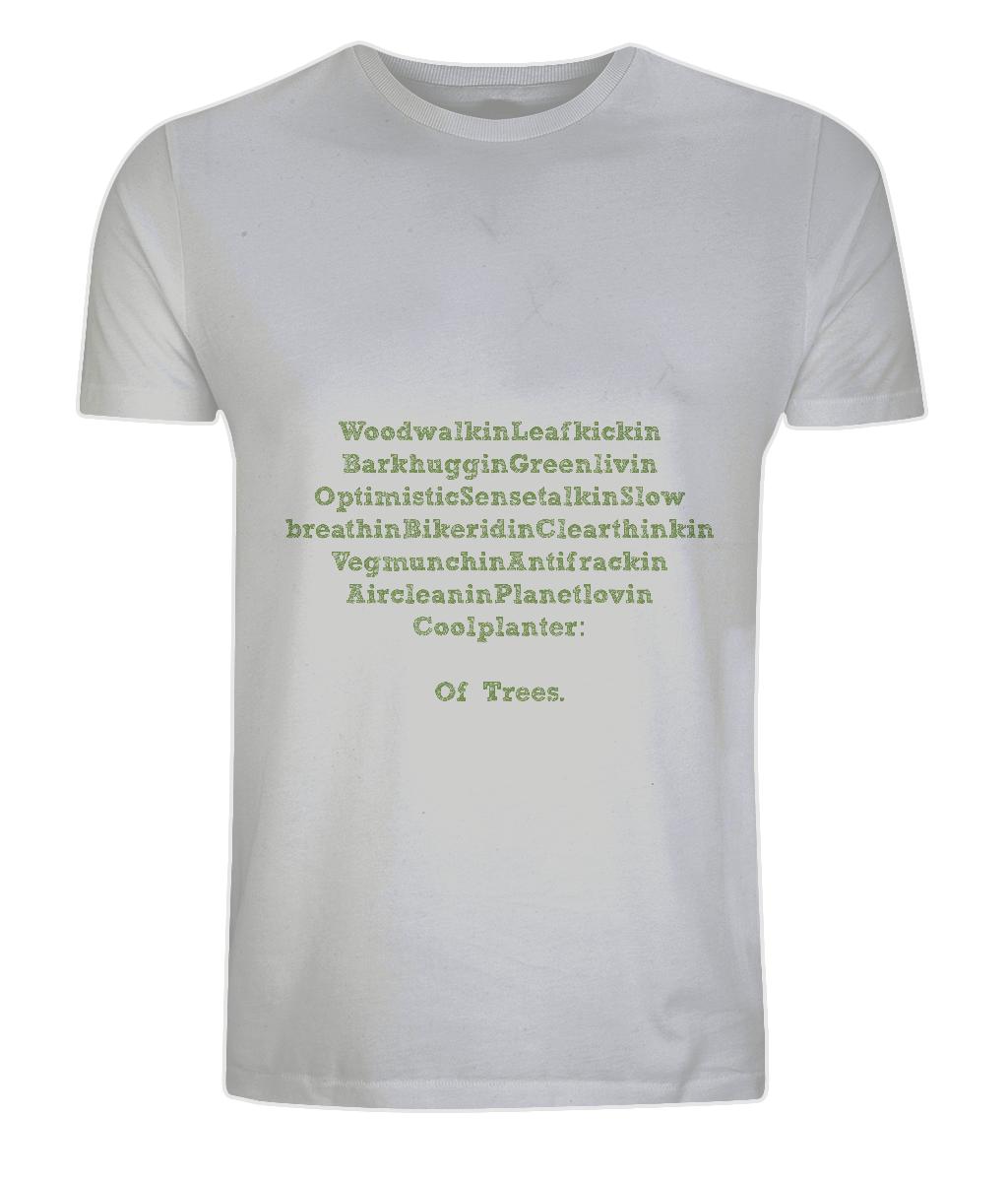 Men Of Trees  100% Organic Cotton Jersey Unisex T-Shirt