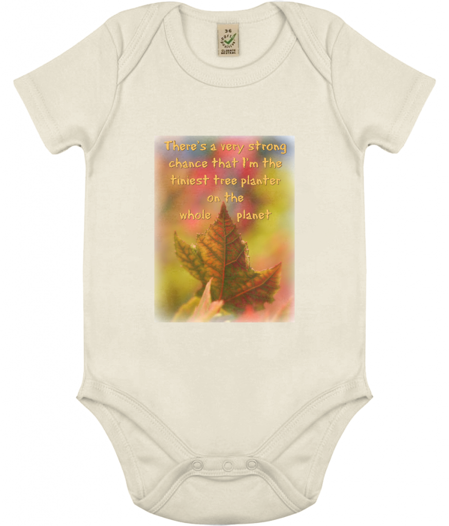 100% Organic Cotton Babygrow