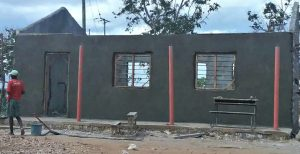Walls rendered