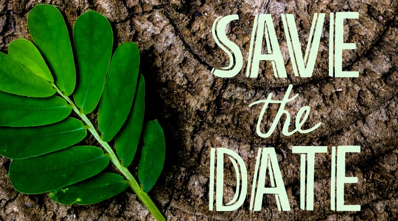 Event: save the date poster
