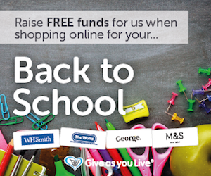 Back to School Give As You Live