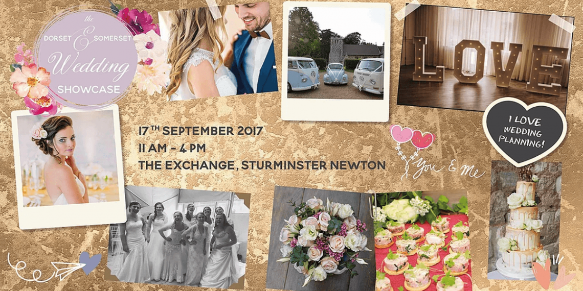 Poster for the Dorset and Somerset Wedding Showcase