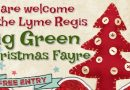 Big Green Christmas Fayre poster
