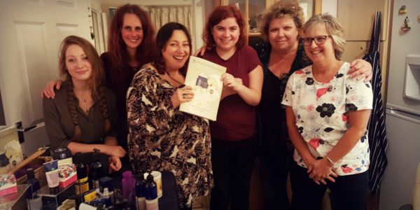 Neal's Yard Fundraiser by Word Forest Organisation Trustee, Helen Roberts