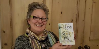 Tracey West, author of The Book of Rubbish Ideas
