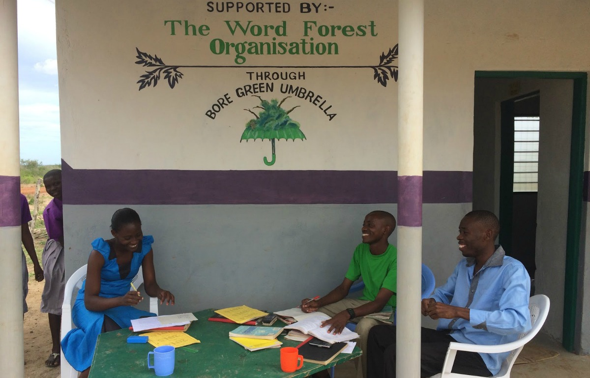 Our staff room at Kadunguni Primary School, Boré