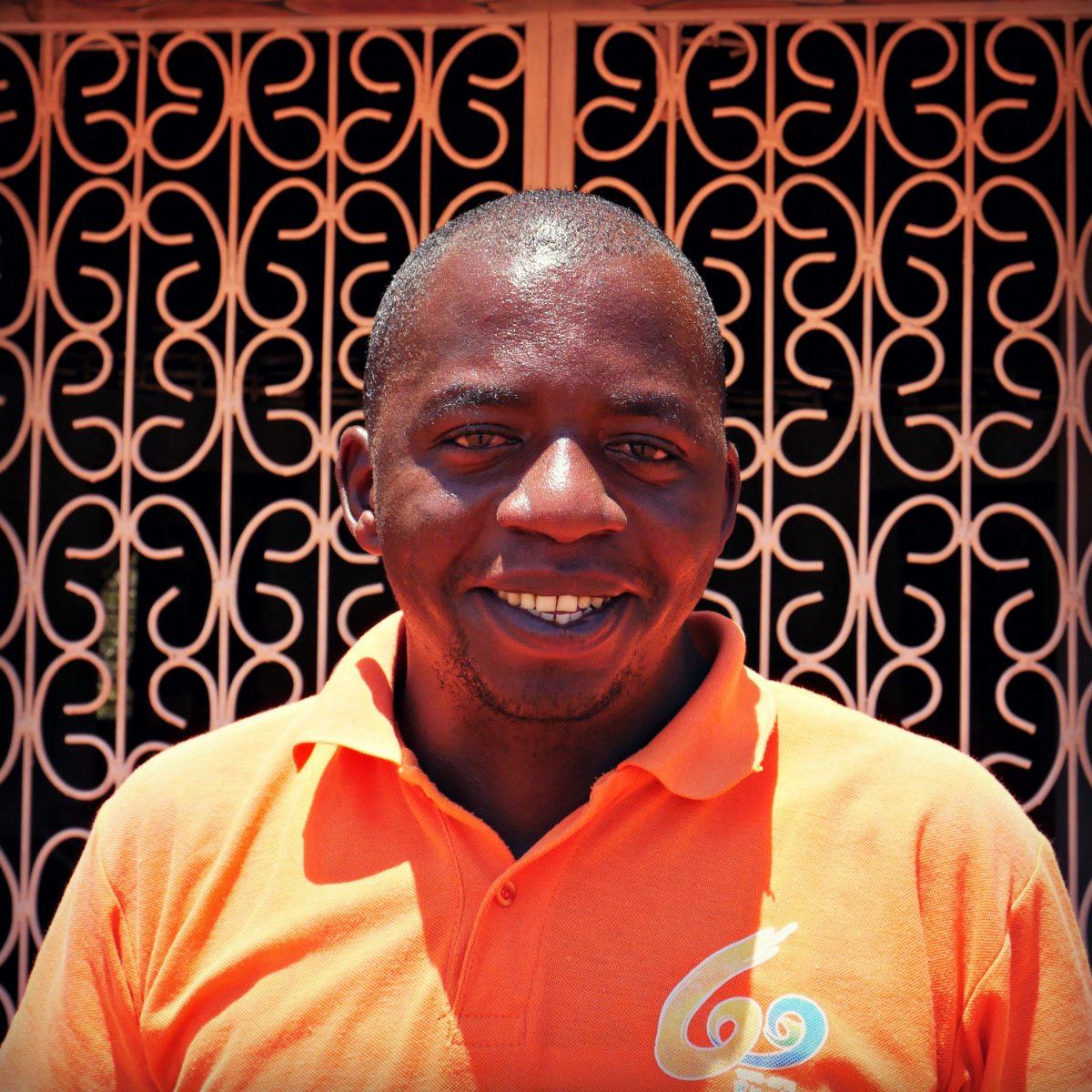 Edward Mwanyule, Coordinator, Boré Forest Community Centre
