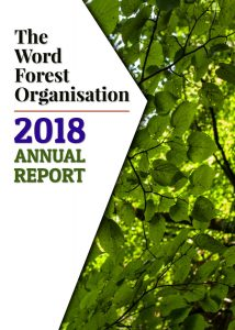 Report and Accounts 2018 cover for The Word Forest Organisation
