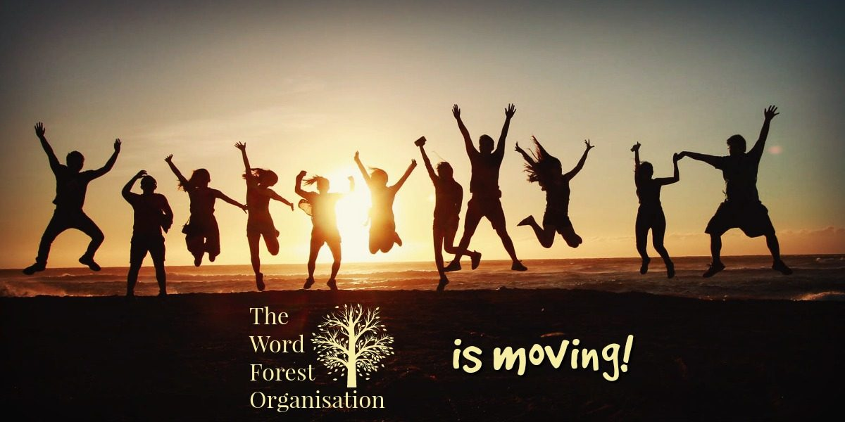 The Word Forest is Moving!