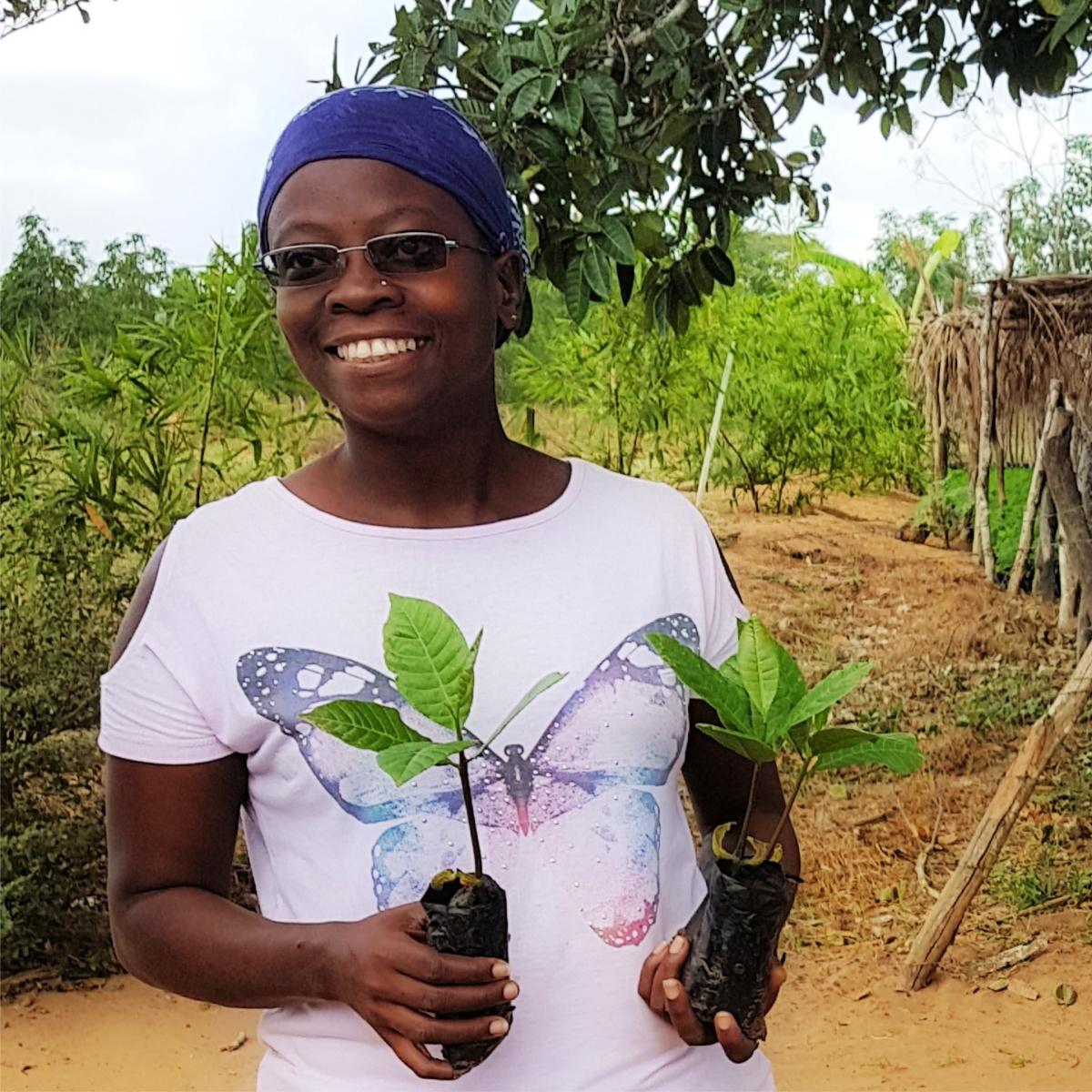 Mother of the Forest facilitator, Evaline Jefa