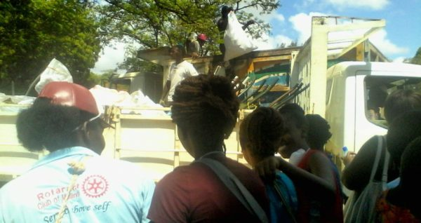 Mothers of the Forest at Malindi Clean Up Day