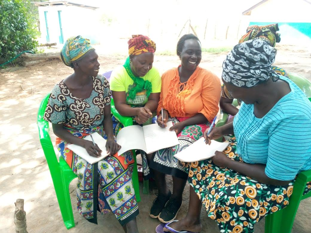 Mothers of the Forest planning their planting