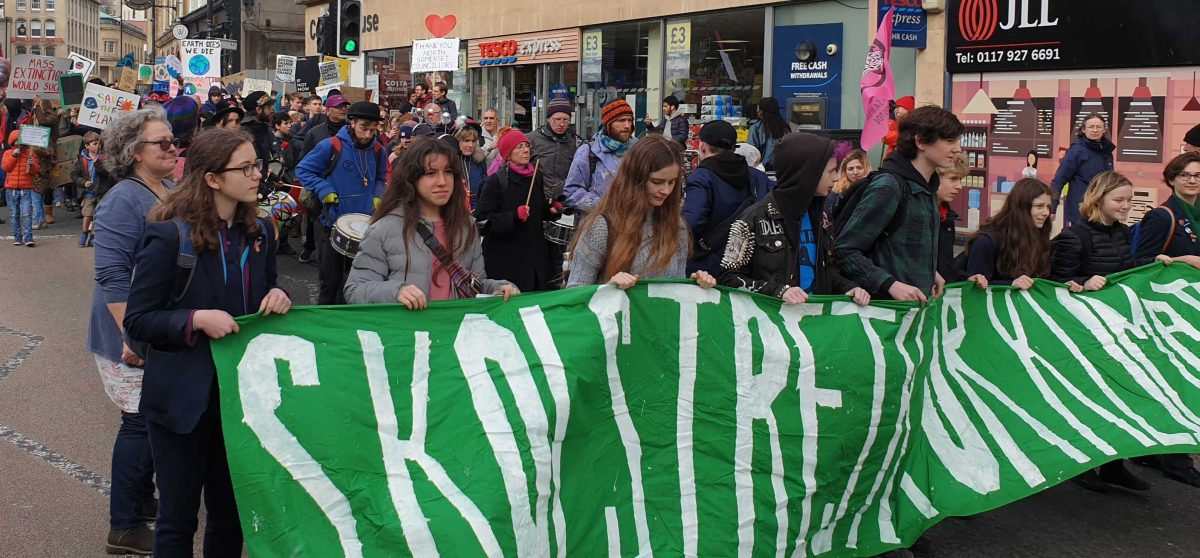 Bristol Youth Strike 4 Climate march