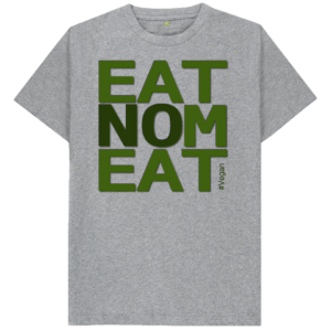 EatNoMeat Tee Shirt (grey)