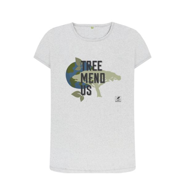 Remill organic cotton, vegan friendly tee-shirt from The Word Forest Organisation
