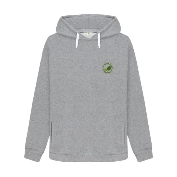 Womens Supporter Hoodie (light) grey