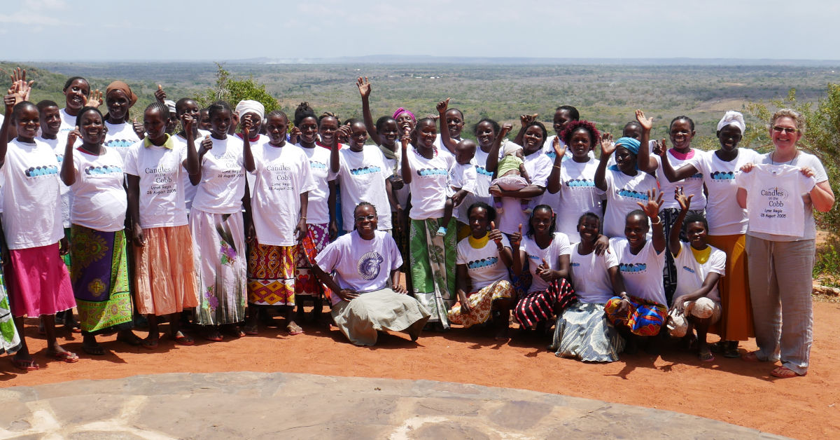 Mothers of the Forest in Boré with Tracey West