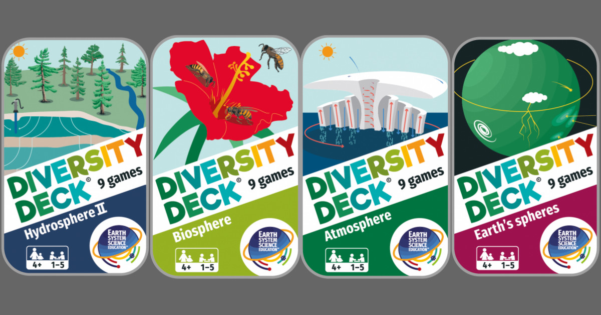 A selection of Diversity Decks
