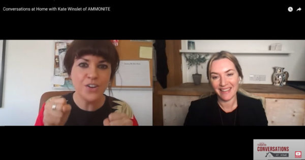 Conversations at Home with Kate Winslet of Ammonite