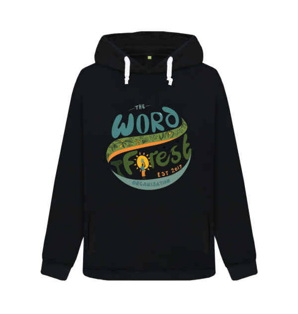 Women's The Word Forest World Pullover Hoody Black