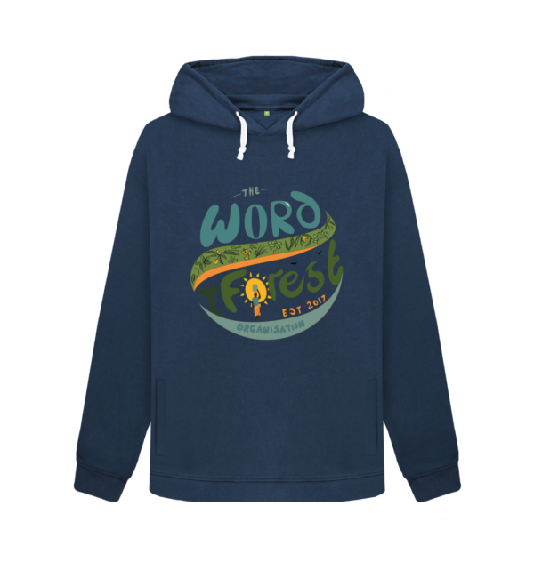 Women's The Word Forest World Pullover Hoody Blue