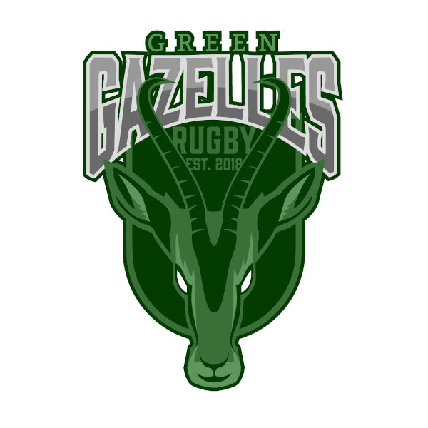Green Gazelles Vegan Rugby Club logo