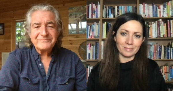 Clare Nasir and Tony Juniper