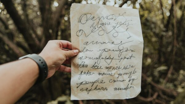 Photo of creative writing in the trees by Amaury Gutierrez on Unsplash