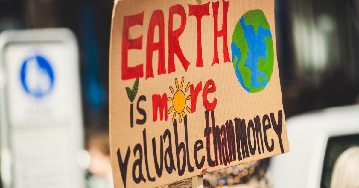 Earth is more valuable than money by Markus Spiske on Unsplash