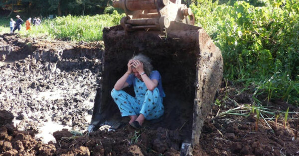 From her Facebook page: Joannah Stutchbury fighting to protect Kiambu Forest