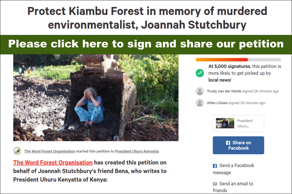 Please click to sign our petition