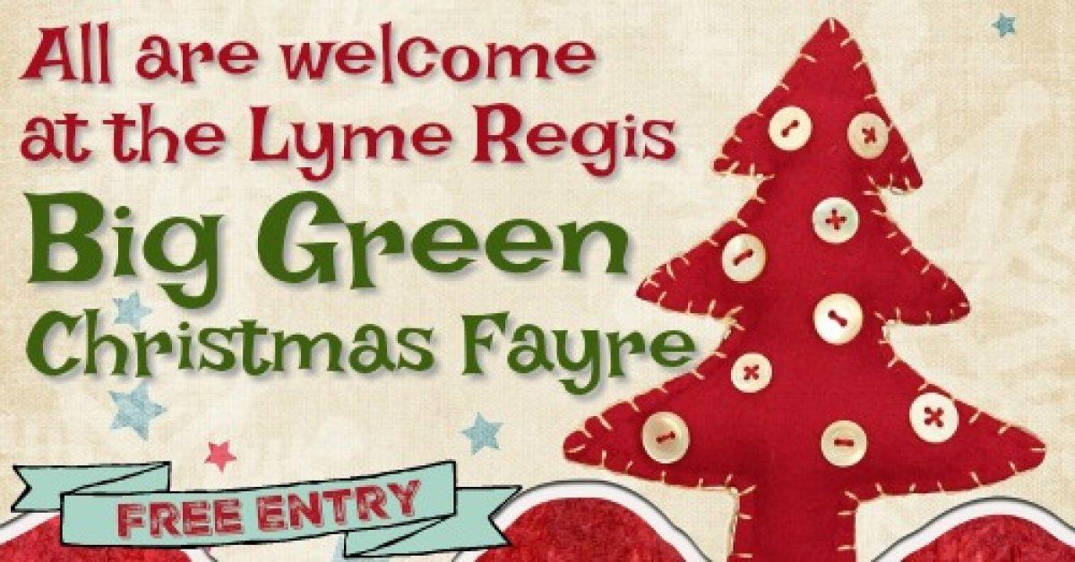 Big Green Christmas Fayre poster