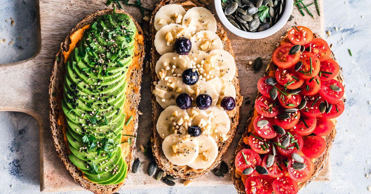 Fruit and Veggie Toast