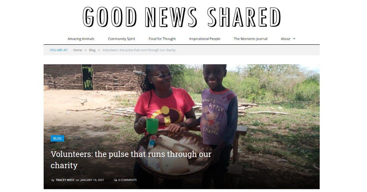 Good news shared header