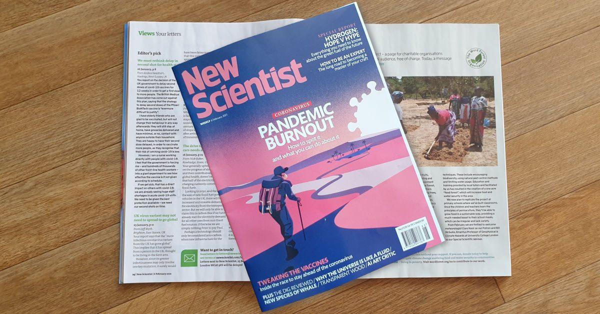 New Scientist Signal Boost
