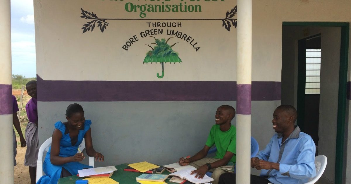 Our staff room at Kadunguni Primary School, Boré