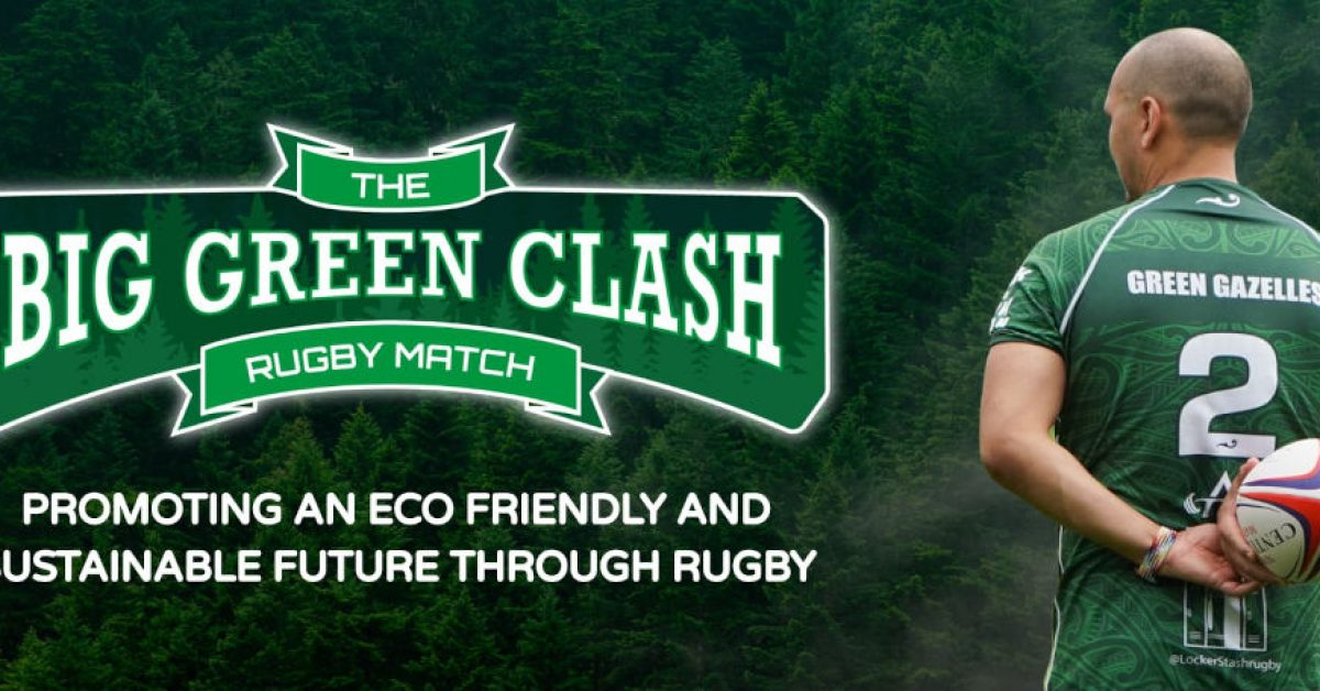 The Big Green Clash Rugby Match