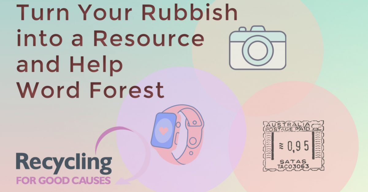 Poster for Recycling for Good Causes