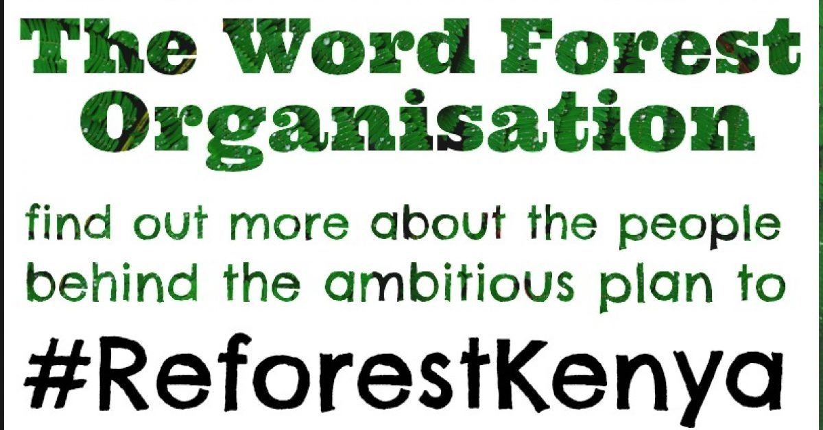 Poster for #ReforestKenya video